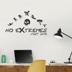 Wandtattoo Extreme Life