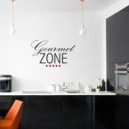 Gourmet Zone Wandtattoo