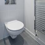 Design-WC-Deckel-Aufkleber Vogel-Ranke