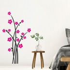 Blumenstrauß Wandtattoo