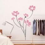Flowers Wandtattoo