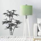 Blühender Bambus Wandtattoo