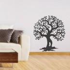 Herzchenbaum Wandtattoo