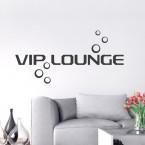 Wandtattoo Spruch - VIP LOUNGE