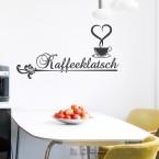 Wandtattoo Spruch - Kaffeeklatsch