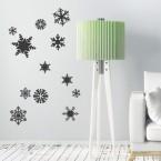 Wandtattoo Set - Schneeflocken
