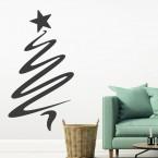 Wandtattoo Weihnachtsbaum