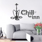 Wandtattoo Spruch - Chill-Inn