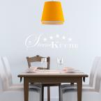Wandtattoo Spruch - Sterneküche