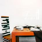 Wandtattoo Spruch - Tischlein deck dich