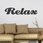 Wandtattoo Spruch - Relax