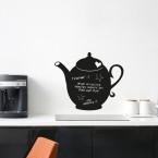 Tafelfolie - Teekanne