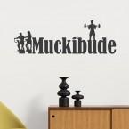 Wandtattoo Muckibude