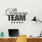 Wandtattoo Dream Team Fußball
