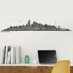 Wandtattoo - Skyline Philadelphia