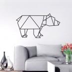 Wandtattoo Origami Bär