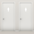 Wandtattoo WC Figuren