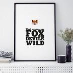 Bild Fuchs that makes me fox devils wild