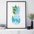 Poster Pineapple Beach