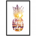 Poster Pineapple Sunset