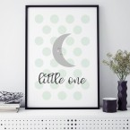 Mond little one poster