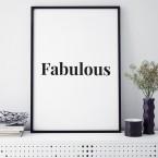 Poster Fabulous