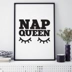 Poster Nap Queen
