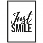 Poster Just smile
