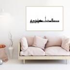 Poster Skyline Dortmund