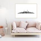 Poster Skyline Berlin