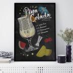 Poster Pina Colada