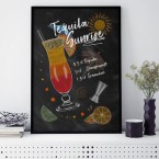 Poster Tequila Sunrise