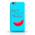 Handycase Melone auf Blau