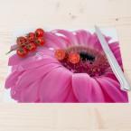 Glasschneidebrett Pinke Blume