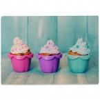 Glasschneidebrett Cupcakes