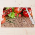 Glasschneidebrett Frische Tomaten