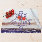 Glasschneidebrett Summer
