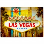 Glasschneidebrett Las Vegas