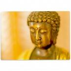 Glasschneidebrett Buddha
