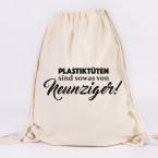 juniwords turnbeutel plastiktüten sind sowas von neunziger! schwarz