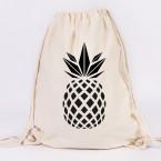 juniwords turnbeutel ananas marine