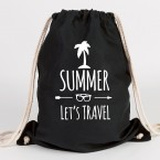 juniwords turnbeutel summer lets travel