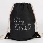 JUNIWORDS Turnbeutel Do you have a bird