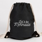 JUNIWORDS Turnbeutel Let's be mermaids