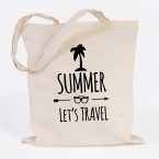JUNIWORDS Jutebeutel Summer lets travel