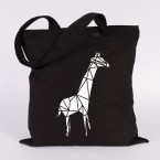 giraffe jutebeutel origami