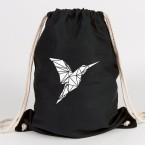 origami kolibri turnbeutel