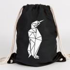 Origami Pinguin Turnbeutel