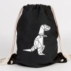 Origami T-Rex Turnbeutel