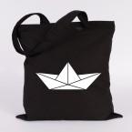 papierboot origami jutebeutel